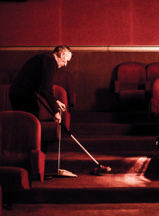 One Man Show, 4x7, Cinema Capitole, Canvas, Alidor Dolfing, JAn verheyen